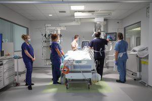 Critical care ward