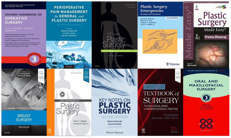 plastic surgery books